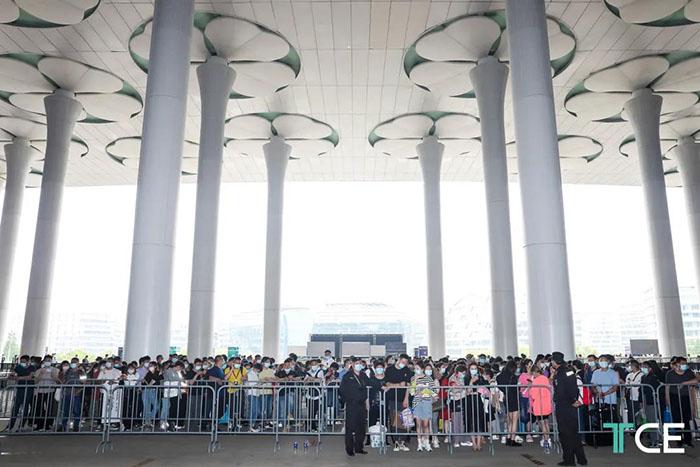 상하이 테일러드 의류 전시회