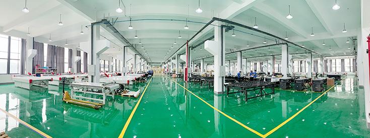 60,000 평방 미터의 연구 센터와 새로운 제조기지를 건설하고 연간 장비 생산량은 4,000 대에 달합니다.