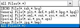 인식 가능한 파일 유형은 다양합니다